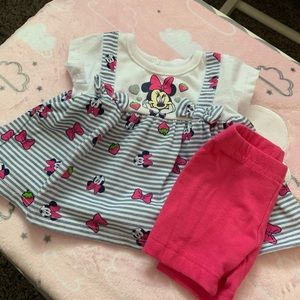 Disney baby Minnie outfit